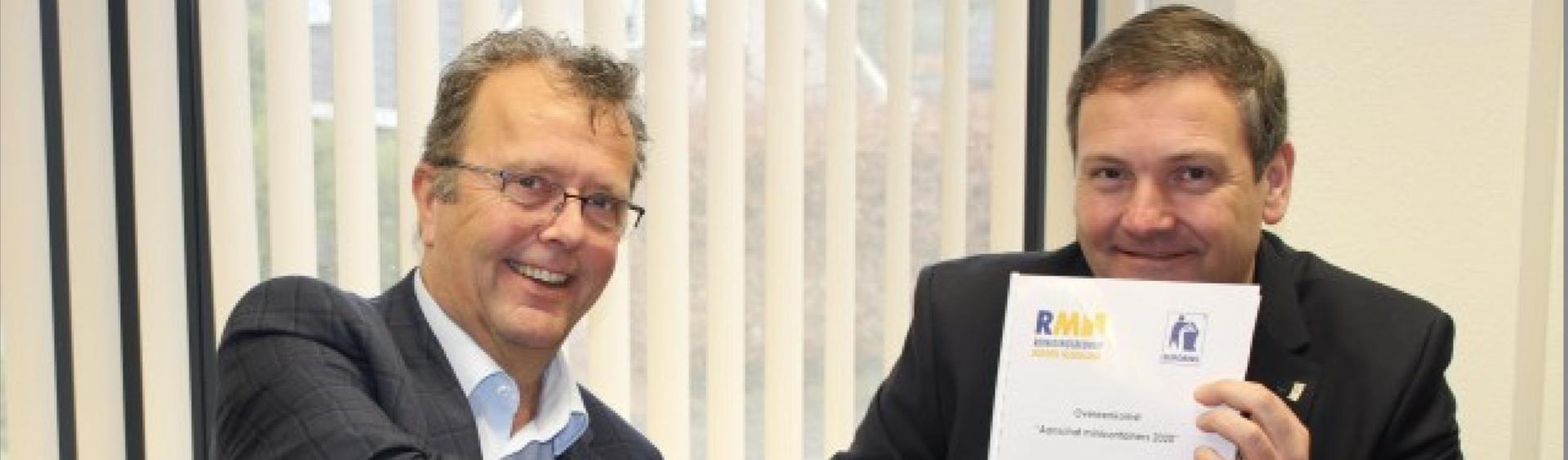 RMN haalt duurzame kliko's bij Eurobins